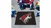 Fan Mats 10658  NHL - Arizona Coyotes 5' x 6' Tailgater Mat / Area Rug