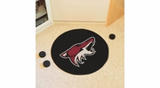 "Fan Mats 10660  NHL - Arizona Coyotes 27"" Diameter Puck-Shaped Area Rug"