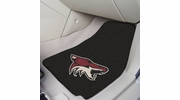 "Fan Mats 10661  NHL - Arizona Coyotes 17"" x 27"" Carpeted Car Mat Set"
