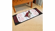 "Fan Mats 10664  NHL - Arizona Coyotes 30"" x 72"" Rink-Shaped Runner Rug"