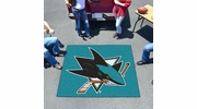 Fan Mats 10669  NHL - San Jose Sharks 5' x 6' Tailgater Mat / Area Rug