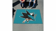 Fan Mats 10670  NHL - San Jose Sharks 5' x 8' Ulti-Mat Area Rug / Mat