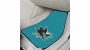 "Fan Mats 10672  NHL - San Jose Sharks 17"" x 27"" Carpeted Car Mat Set"