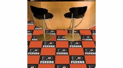 "Fan Mats 10695  NHL - Philadelphia Flyers 18"" x 18"" Team Carpet Tiles (10 Logo, 10 Solid per Box - appx 45 sq ft)"