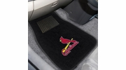 Fan Mats 10751  MLB - St. Louis Cardinals 2-pc Embroidered Car Mat Set