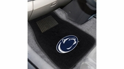Fan Mats 10754  Penn State Nittany Lions 2-pc Embroidered Car Mat Set