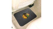 "Fan Mats 10764  NHL - Chicago Blackhawks 14"" x 17"" Vinyl Utility Mat (1 each)"