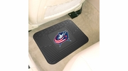 "Fan Mats 10766  NHL - Columbus Blue Jackets 14"" x 17"" Vinyl Utility Mat (1 each)"