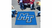 Fan Mats 108  MTSU - Middle Tennessee State University Blue Raiders 5' x 6' Tailgater Mat / Area Rug