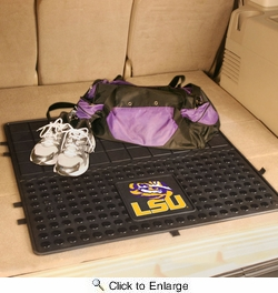 "Fan Mats 10809  LSU - Louisiana State University Tigers 31"" x 31"" Vinyl Cargo Mat"