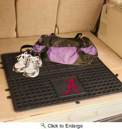 "Fan Mats 10821  UA - University of Alabama Crimson Tide 31"" x 31"" Vinyl Cargo Mat"