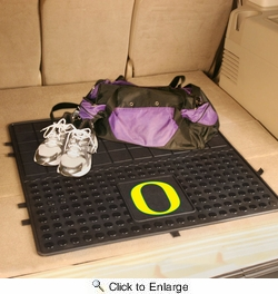 "Fan Mats 10854  UO - University of Oregon Ducks 31"" x 31"" Vinyl Cargo Mat"