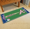 "Fan Mats 11068  MLB - Atlanta Braves 30"" x 72"" Baseball Runner Rug"