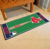 "Fan Mats 11070  MLB - Boston Red Sox 30"" x 72"" Baseball Runner Rug"