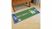 "Fan Mats 11081  MLB - Los Angeles Dodgers 30"" x 72"" Baseball Runner Rug"