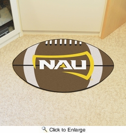"Fan Mats 1125  Northern Arizona University Lumberjacks 20.5"" x 32.5"" Football Mat"