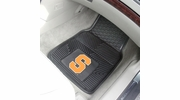 "Fan Mats 11342  SU - Syracuse University Orange 17"" x 27"" Heavy Duty Vinyl Car Mat Set"