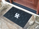 "Fan Mats 11360  UK - University of Kentucky Wildcats 19.5"" x 31.25"" Medallion Vinyl Door Mat"