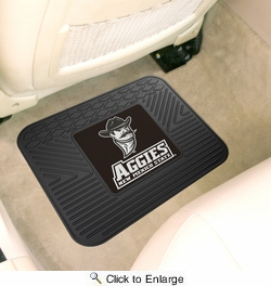 "Fan Mats 11373  NMSU - New Mexico State University Aggies 14"" x 17"" Vinyl Utility Mat (1 each)"