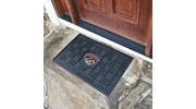 "Fan Mats 11374  UNM - University of New Mexico Lobos 19.5"" x 31.25"" Medallion Vinyl Door Mat"
