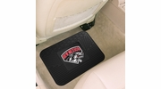 "Fan Mats 11375  UNM - University of New Mexico Lobos 14"" x 17"" Vinyl Utility Mat (1 each)"