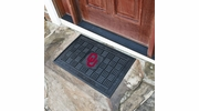 "Fan Mats 11378  OU - University of Oklahoma Sooners 19.5"" x 31.25"" Medallion Vinyl Door Mat"