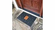 "Fan Mats 11382  SU - Syracuse University Orange 19.5"" x 31.25"" Medallion Vinyl Door Mat"
