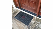 "Fan Mats 11384  Texas A&M University Aggies 19.5"" x 31.25"" Medallion Vinyl Door Mat"