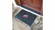 "Fan Mats 11388  University of Utah Utes 19.5"" x 31.25"" Medallion Vinyl Door Mat"