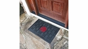 "Fan Mats 11428  NBA - Toronto Raptors 19.5"" x 31.25"" Medallion Vinyl Door Mat"
