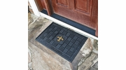 "Fan Mats 11448  NFL - New Orleans Saints 19.5"" x 31.25"" Medallion Vinyl Door Mat"