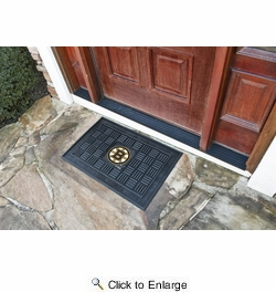 "Fan Mats 11478  NHL - Boston Bruins 19.5"" x 31.25"" Medallion Vinyl Door Mat"