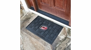 "Fan Mats 11481  NHL - Carolina Hurricanes 19.5"" x 31.25"" Medallion Vinyl Door Mat"