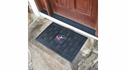 "Fan Mats 11485  NHL - Columbus Blue Jackets 19.5"" x 31.25"" Medallion Vinyl Door Mat"