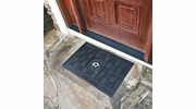 "Fan Mats 11491  NHL - Dallas Stars 19.5"" x 31.25"" Medallion Vinyl Door Mat"