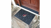 "Fan Mats 11493  NHL - Arizona Coyotes 19.5"" x 31.25"" Medallion Vinyl Door Mat"