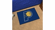 "Fan Mats 11909  NBA - Indiana Pacers 19"" x 30"" Starter Series Area Rug / Mat"