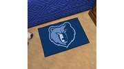 "Fan Mats 11912  NBA - Memphis Grizzlies 19"" x 30"" Starter Series Area Rug / Mat"