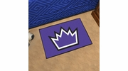 "Fan Mats 11925  NBA - Sacramento Kings 19"" x 30"" Starter Series Area Rug / Mat"