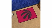 "Fan Mats 11927  NBA - Toronto Raptors 19"" x 30"" Starter Series Area Rug / Mat"