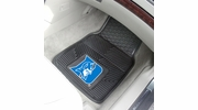 "Fan Mats 12097  Duke University Blue Devils 17"" x 27"" Heavy Duty Vinyl Car Mat Set"