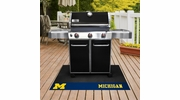 "Fan Mats 12126  University of Michigan Wolverines 26"" x 42"" Grill Mat"