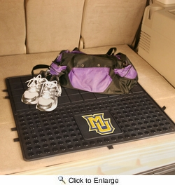 "Fan Mats 12140  Marquette University Golden Eagles 31"" x 31"" Vinyl Cargo Mat"