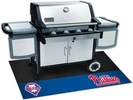 "Fan Mats 12164  MLB - Philadelphia Phillies 26"" x 42"" Grill Mat"
