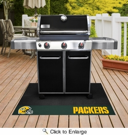 "Fan Mats 12185  NFL - Green Bay Packers 26"" x 42"" Grill Mat"