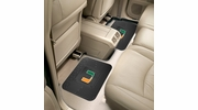 "Fan Mats 12287  University of Miami Hurricanes 14"" x 17"" Utility Mats 2 per Package"