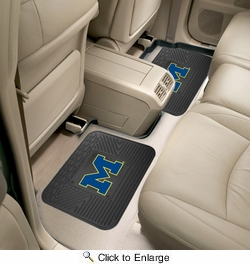 "Fan Mats 12288  University of Michigan Wolverines 14"" x 17"" Utility Mats 2 per Package"
