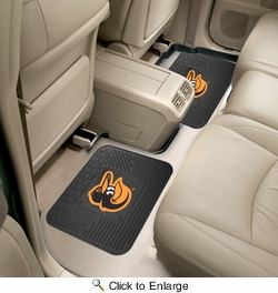 "Fan Mats 12327  MLB - Baltimore Orioles 14"" x 17"" Utility Mats 2 per Package"