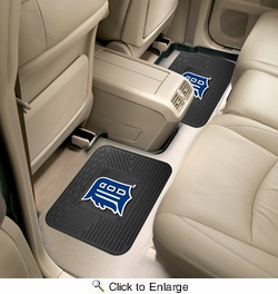 "Fan Mats 12332  MLB - Detroit Tigers 14"" x 17"" Utility Mats 2 per Package"