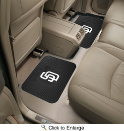 """Fan Mats 12342  MLB - San Diego Padres 14"""" x 17"""" Utility Mats 2 per Package"""